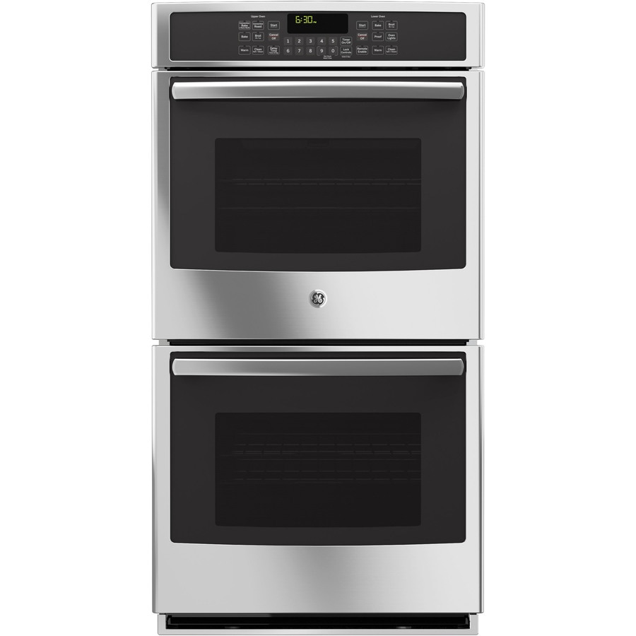 Shop Ge Profile Self Cleaning Convection Double Electric