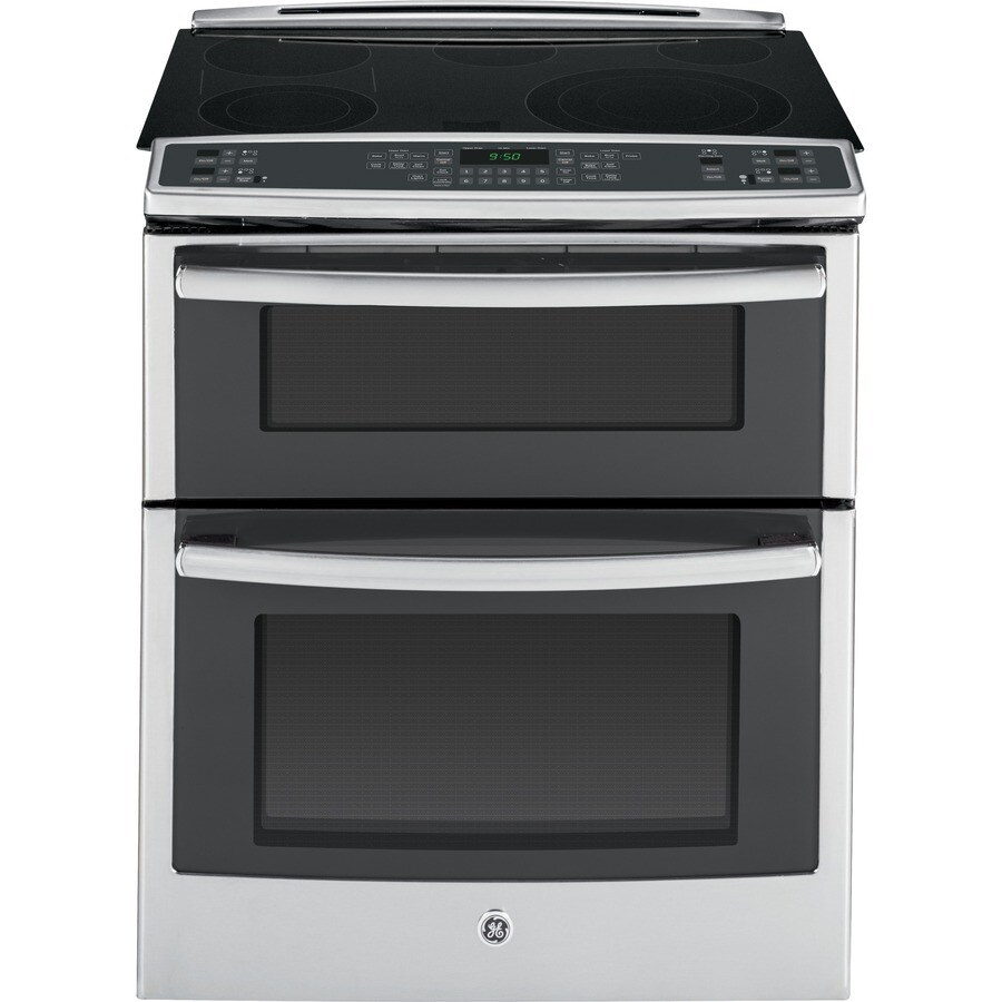 Electric Kitchen Stoves Lowes ~ Shop ge profile smooth surface element slide in