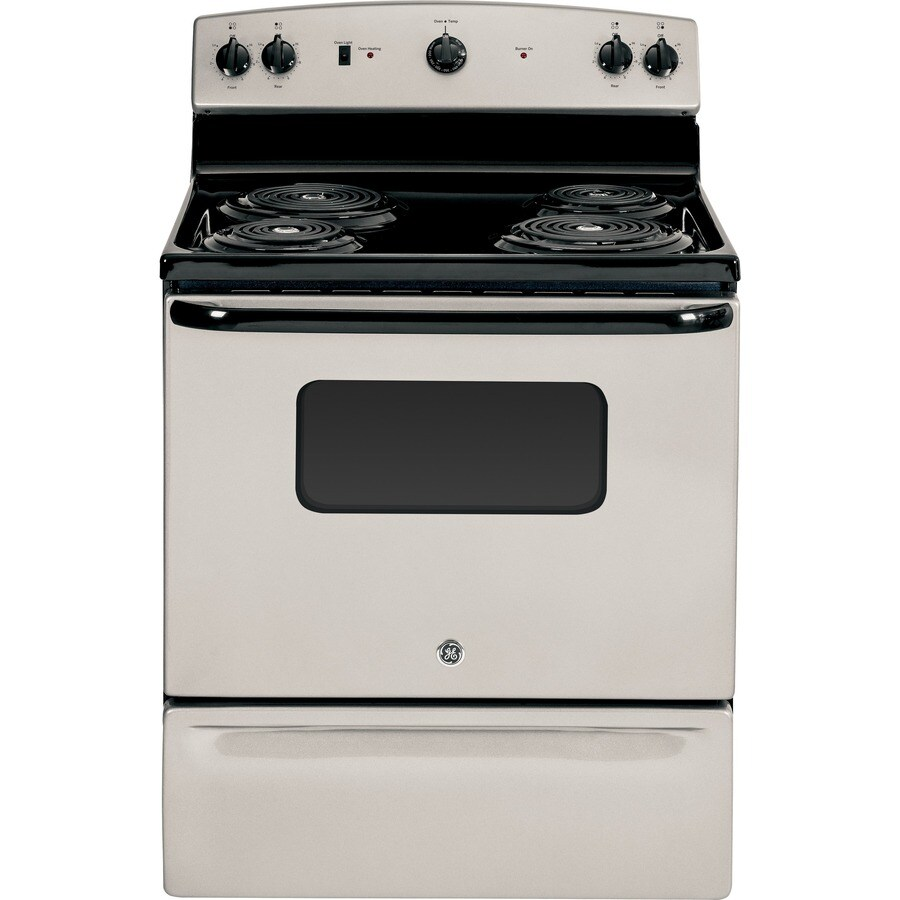 Shop Ge Freestanding 5 Cu Ft Electric Range Silver