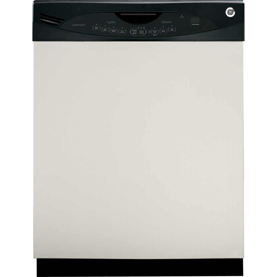 GE 56-Decibel Built-In Dishwasher with Hard Food Disposer (Stainless Steel) (Common: 24-in; Actual: 24-in)