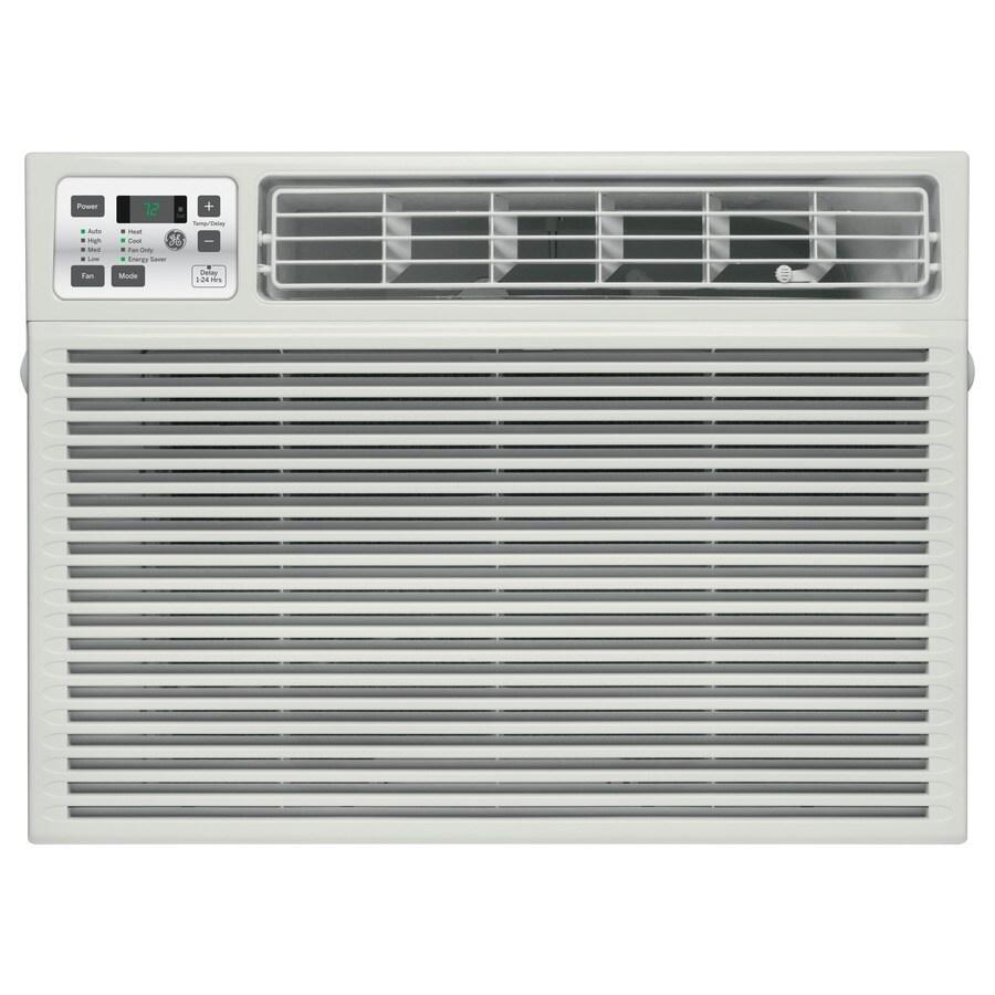 Shop ge 18 000 btu 1 000 sq ft 230 volt window air for 18000 btu window air conditioner lowes