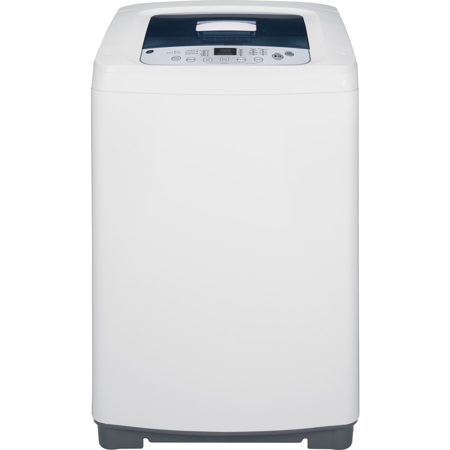 GE 2.6-cu ft Portable Top-Load Washer (White)
