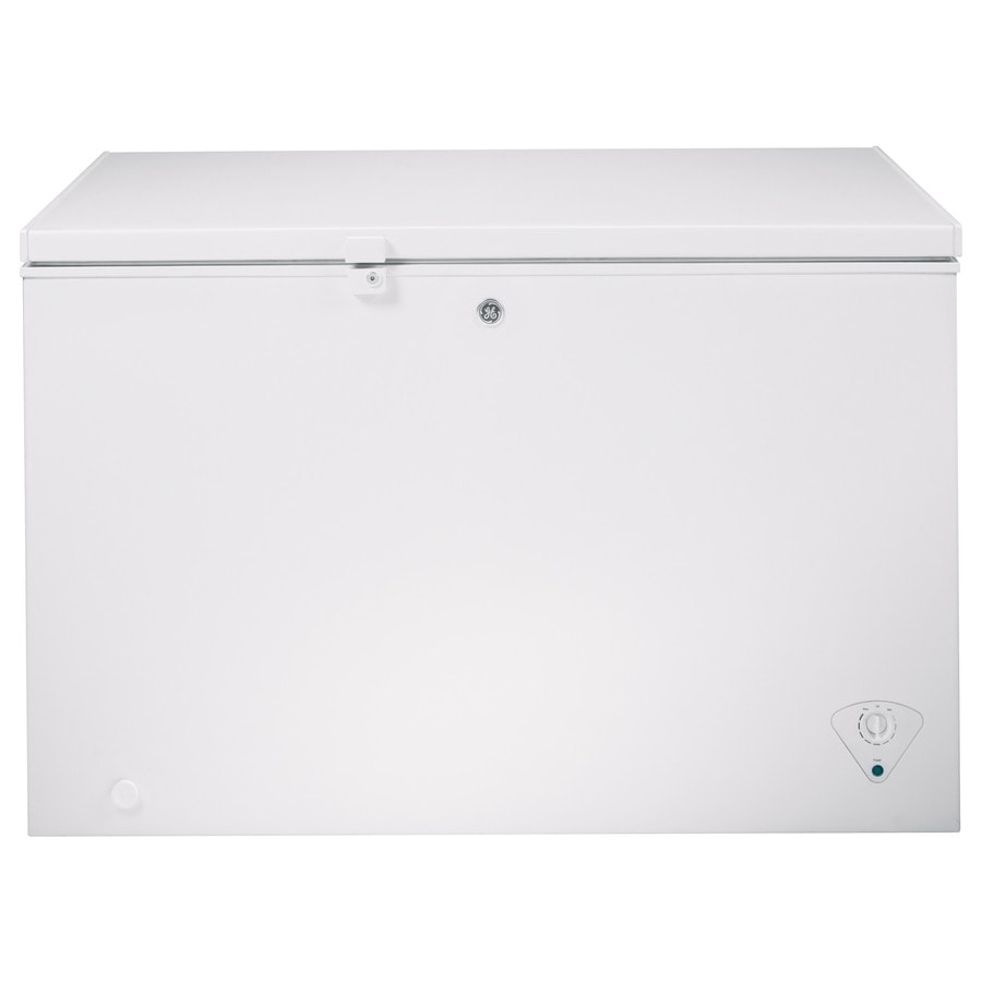GE 10.6-cu ft Chest Freezer (White) ENERGY STAR
