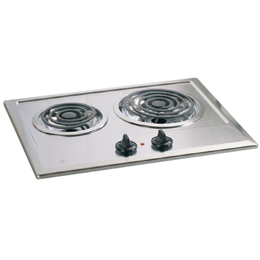 GE Electric Cooktop (Stainless Steel) (Common: 21-in; Actual 21.25-in)