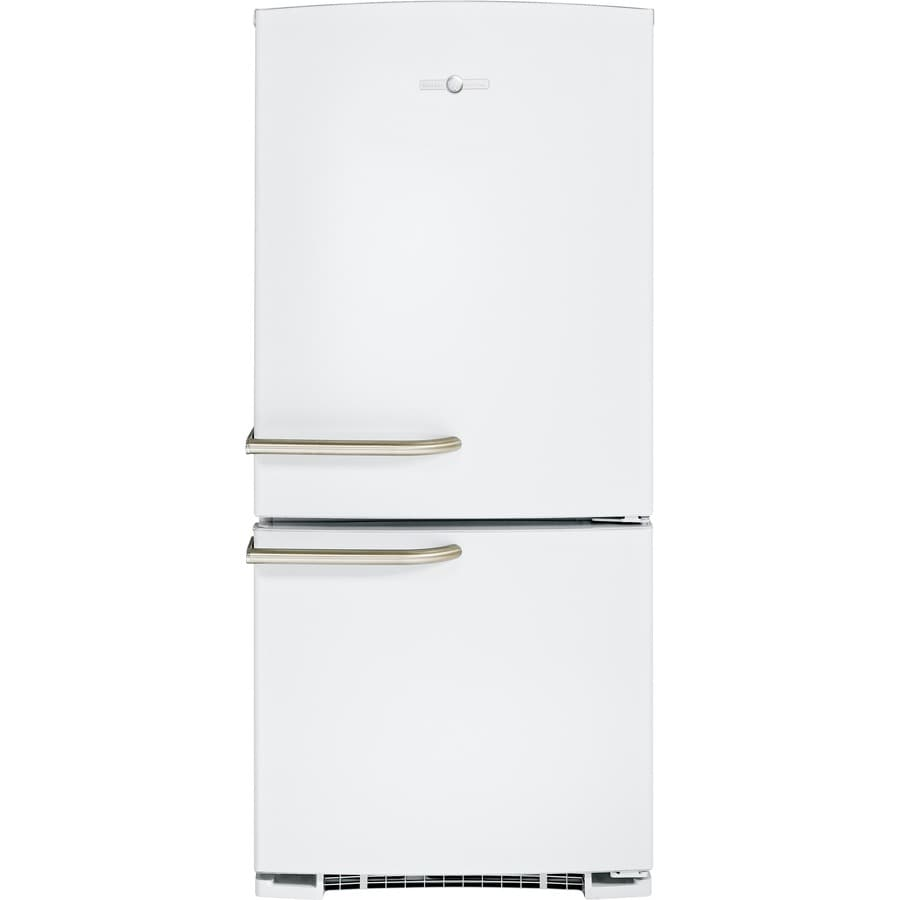GE Appliances ABE20EGHWS 203 cu ft Bottom-Freezer