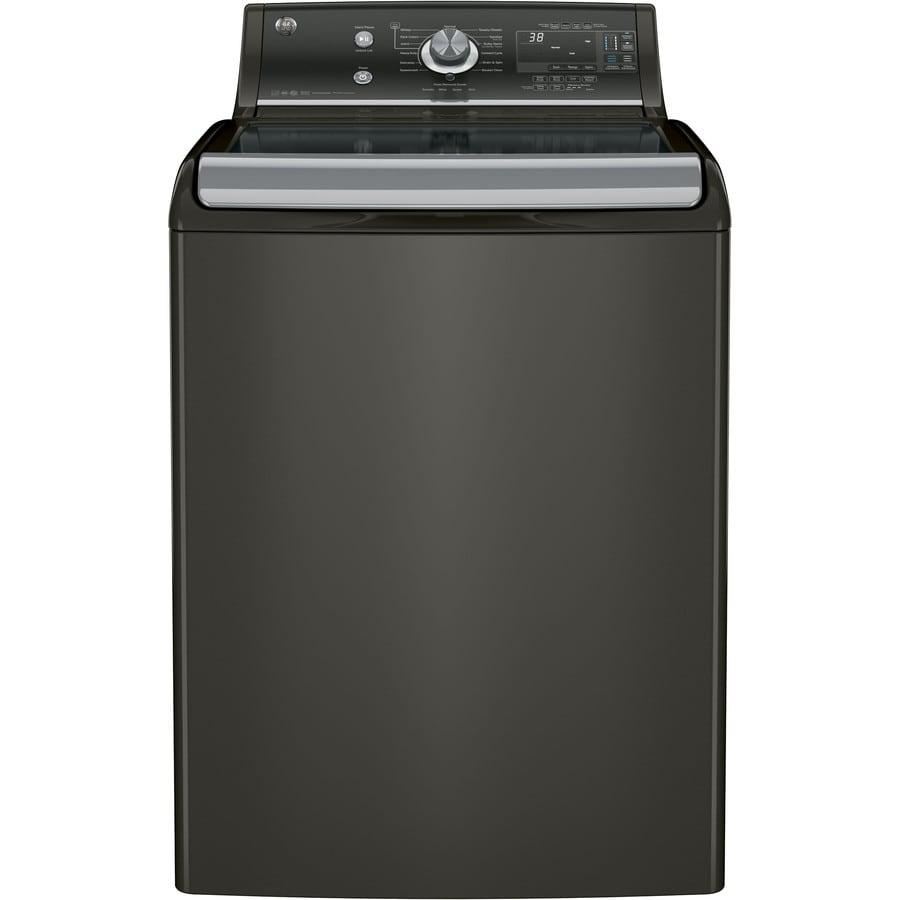 Shop Ge 5 1 Cu Ft High Efficiency Top Load Washer