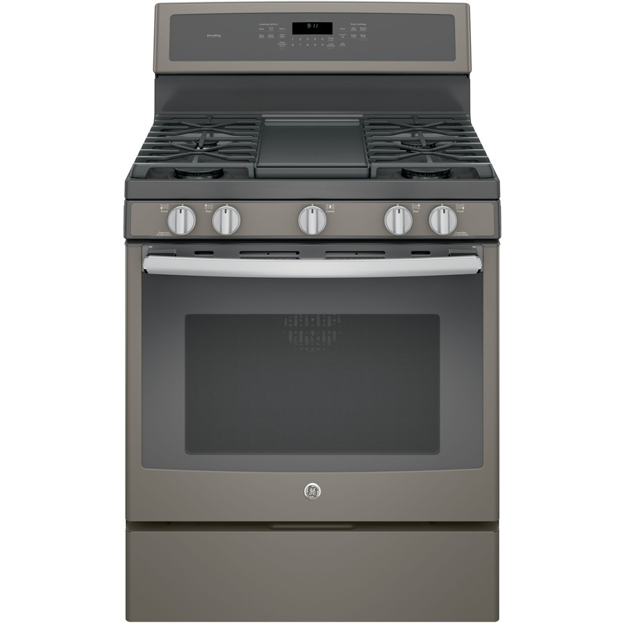 Shop Ge Profile 5 Burner Freestanding Convection Gas Range