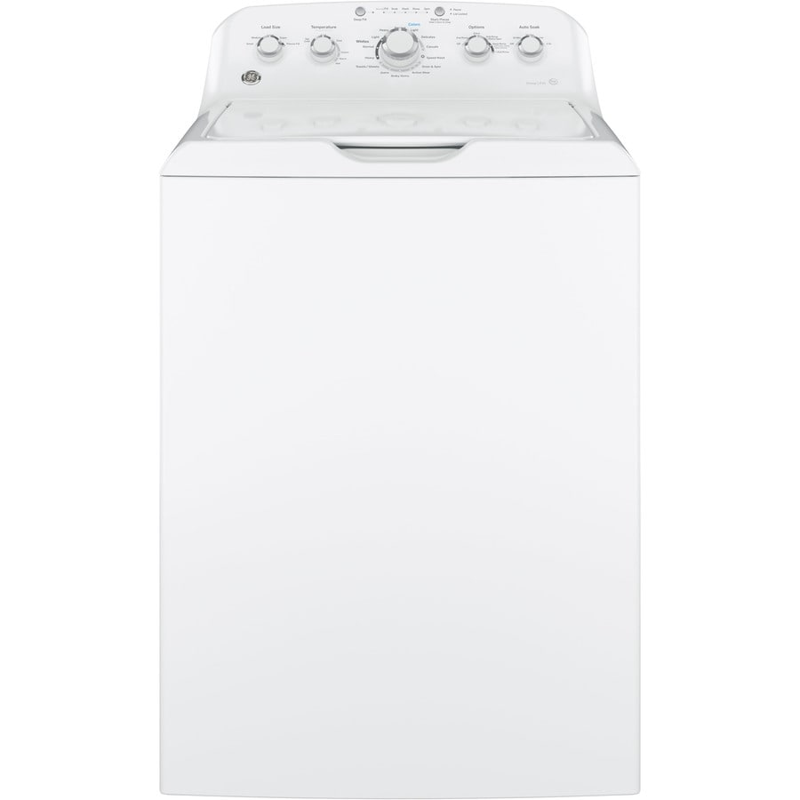 GE 4.2-cu ft High-Efficiency Top-Load Washer (White)