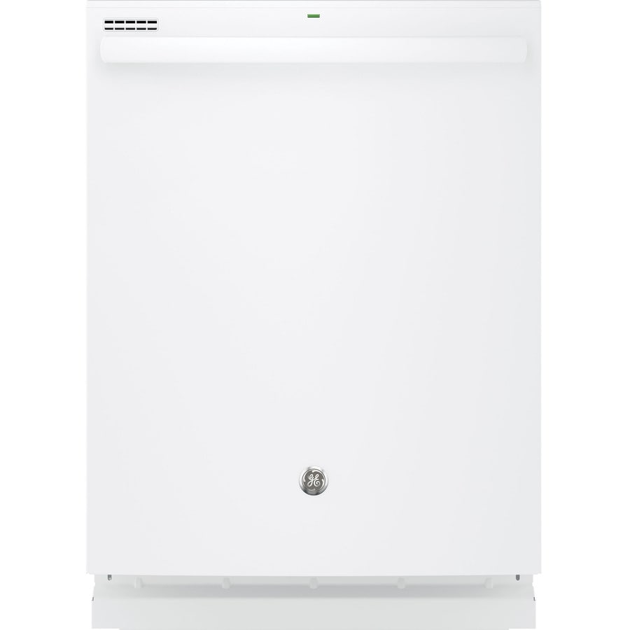 GE 51-Decibel Built-In Dishwasher with Hard Food Disposer (White) (Common: 24-in; Actual: 23.75-in)