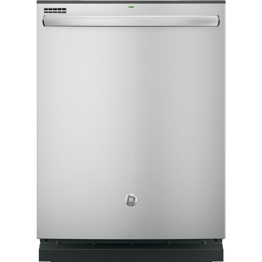 Shop Samsung 55 Decibel Built In Dishwasher Stainless: Shop GE 55-Decibel Built-In Dishwasher With Hard Food