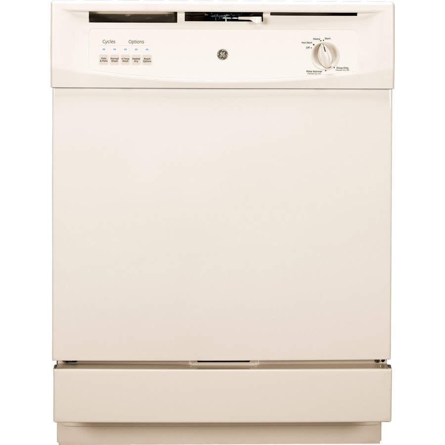Shop GE 62-Decibel Built-In Dishwasher With Hard Food