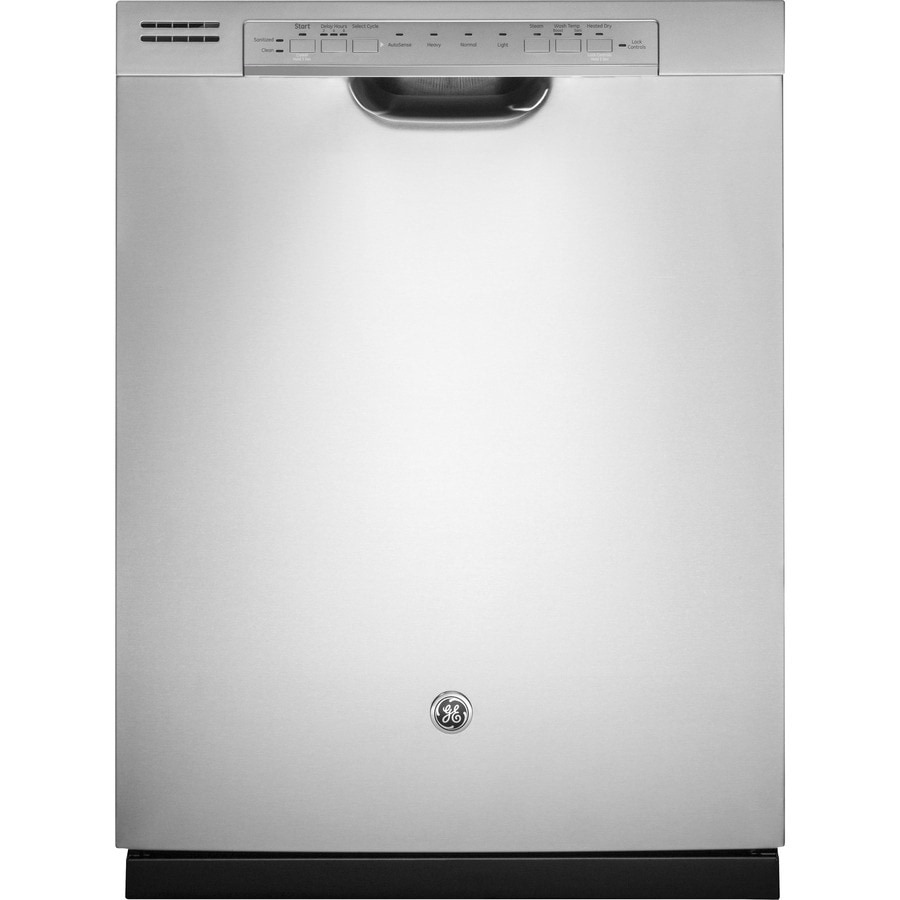 GE 48-Decibel Built-in Dishwasher with Hard Food Disposer (Stainless) (Common: 24-in; Actual: 23.75-in) ENERGY STAR