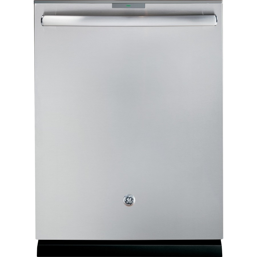 GE Profile Series Profile 42-Decibel Built-In Dishwasher with Bottle Wash Feature and Hard Food Disposer (Stainless) (Common: 24-in; Actual: 23.75-in) ENERGY STAR