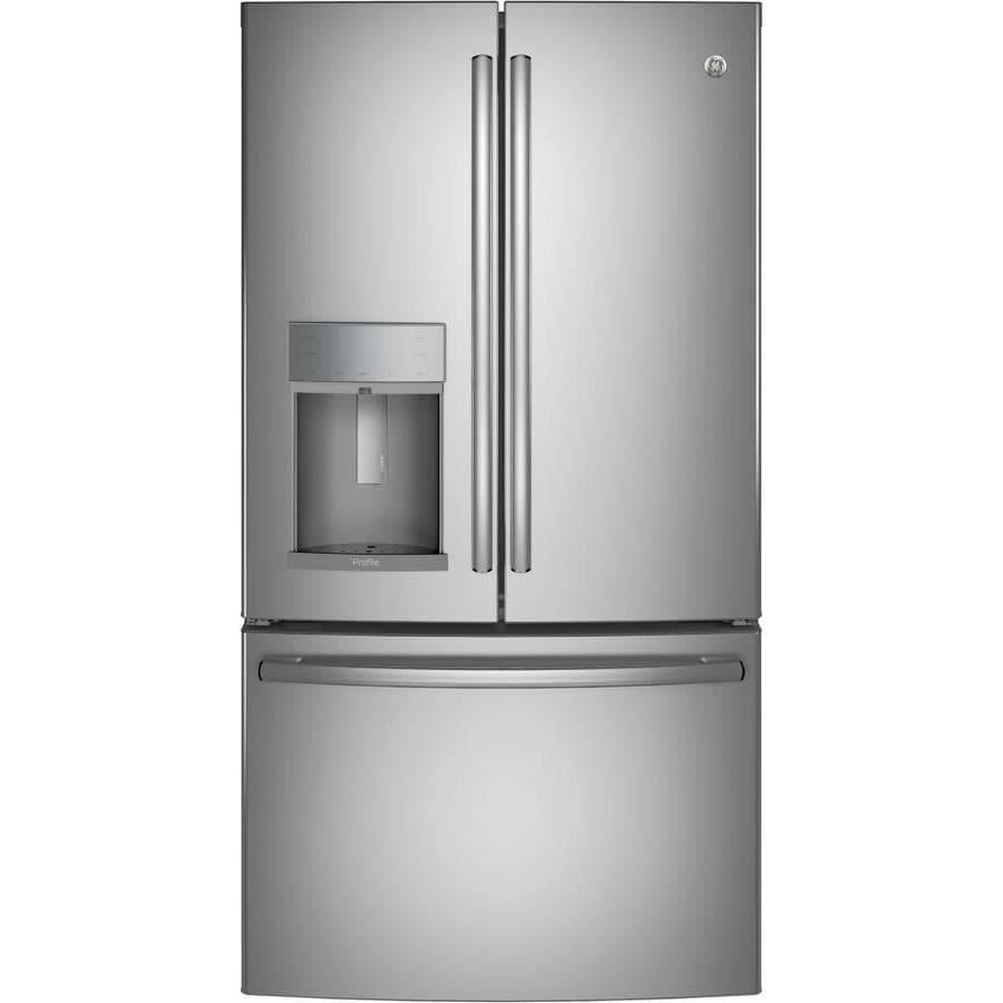 22 1 Cu Ft French Door Refrigerator: Shop GE Profile Series 22.2-cu Ft Counter-Depth French