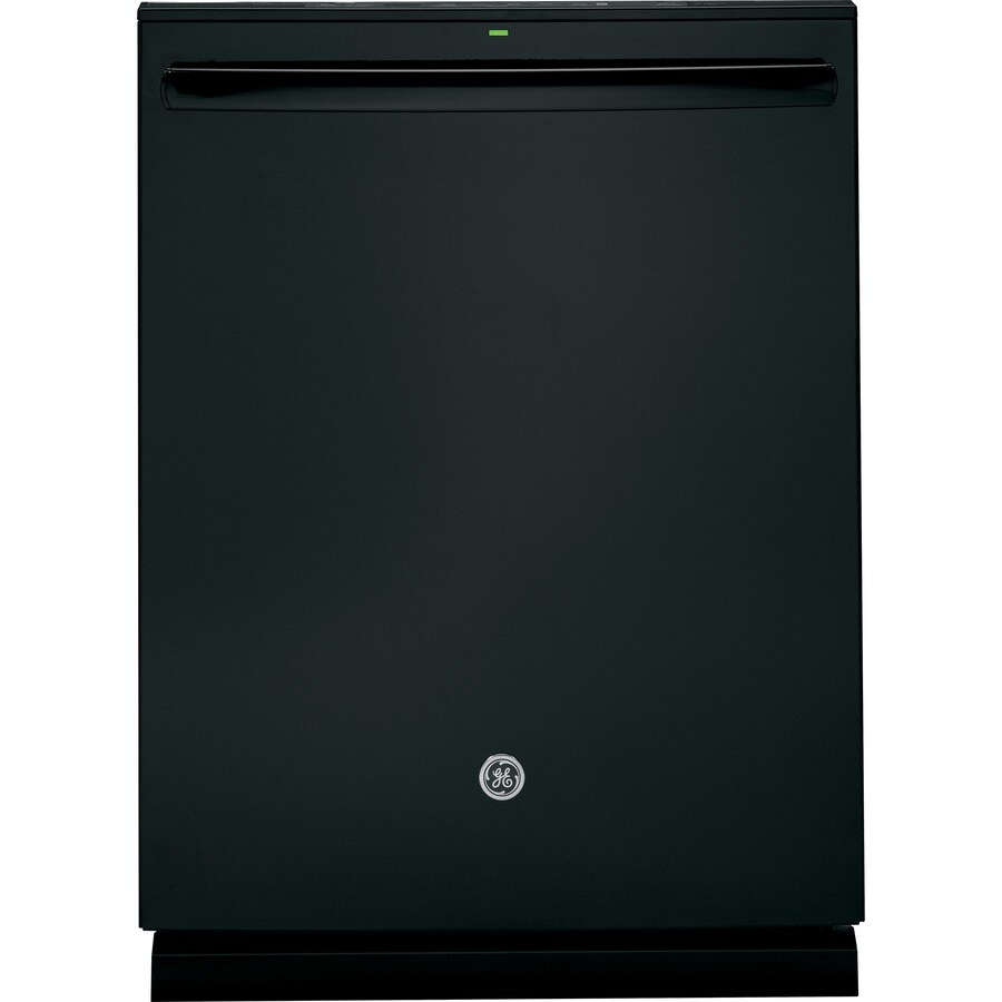 GE 45-Decibel Built-in Dishwasher with Hard Food Disposer Bottle Wash Feature (Black) (Common: 24-in; Actual: 23.75-in) ENERGY STAR