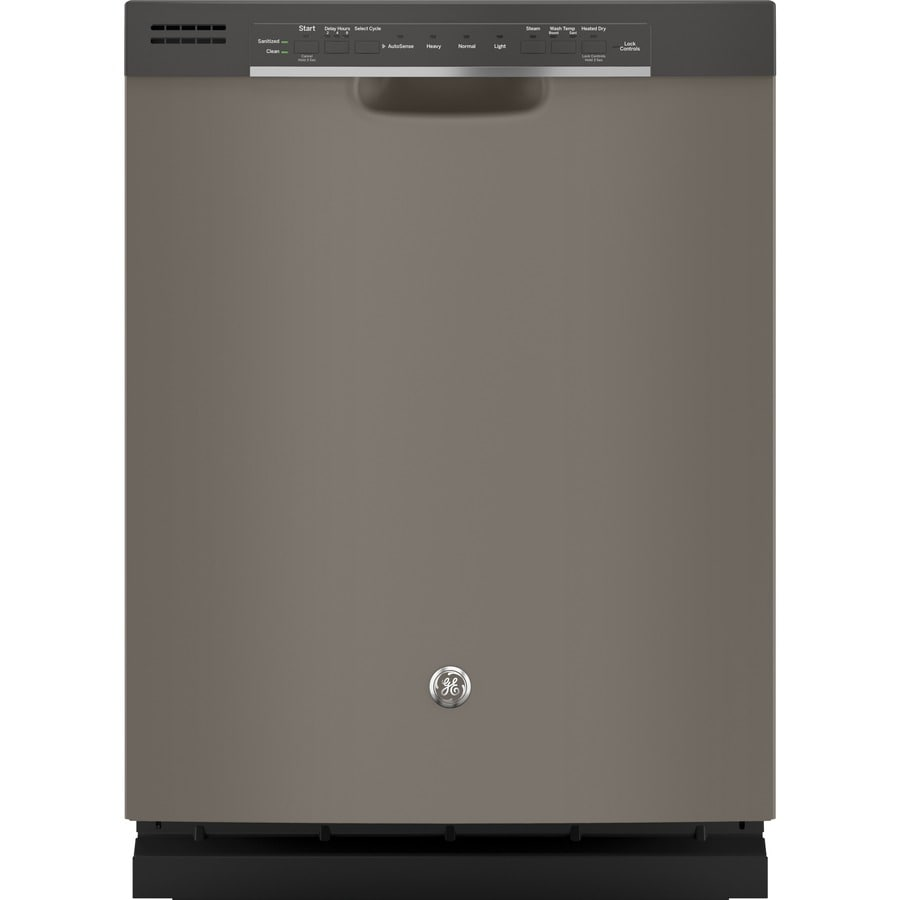 GE 54-Decibel Built-In Dishwasher (Slate) (Common: 24-in; Actual: 23.75-in) ENERGY STAR