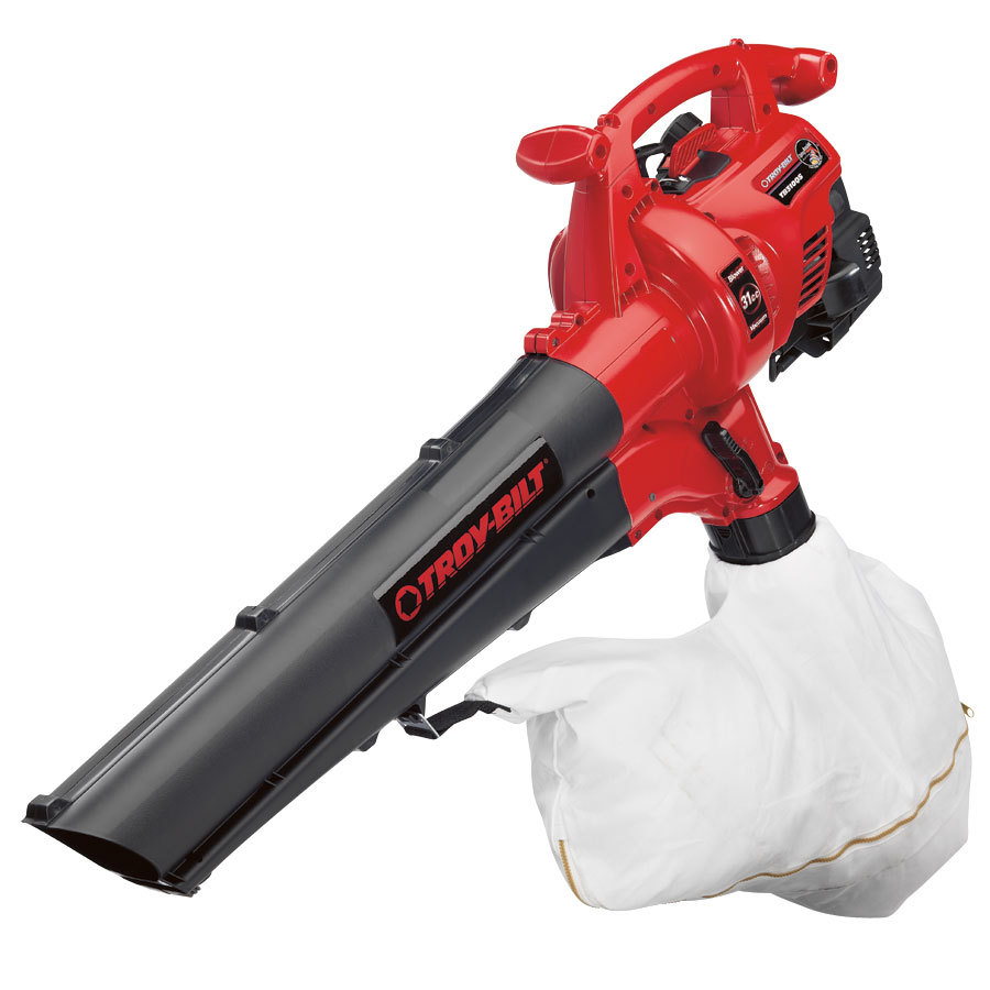 Troy-Bilt 31cc 2-Cycle Heavy-Duty Gas Blower with Vacuum Kit