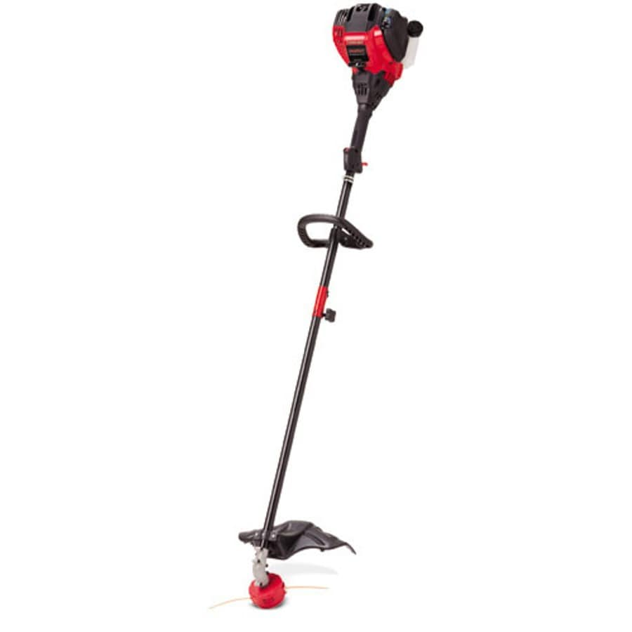 Troy-Bilt 29-cc 4-Cycle 17-in Straight Shaft Gas String Trimmer Edger Capable (Attachment Compatible)