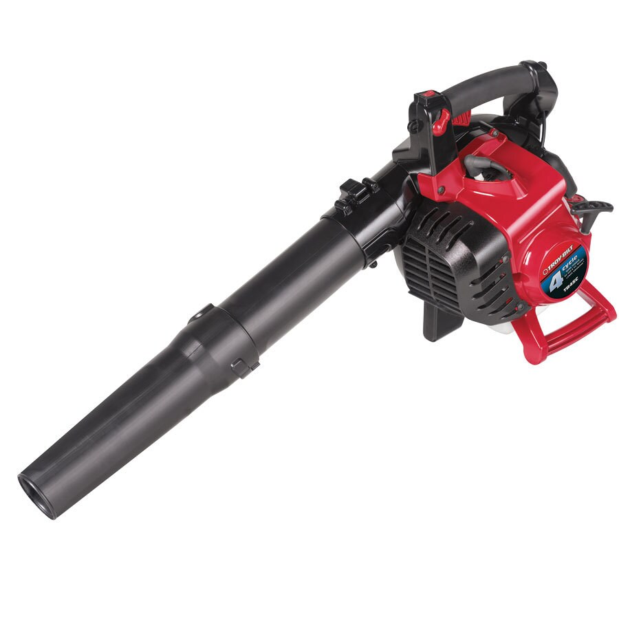 Troy-Bilt 25cc 4-Cycle 150-MPH 450-CFM Heavy-Duty Gas Leaf Blower