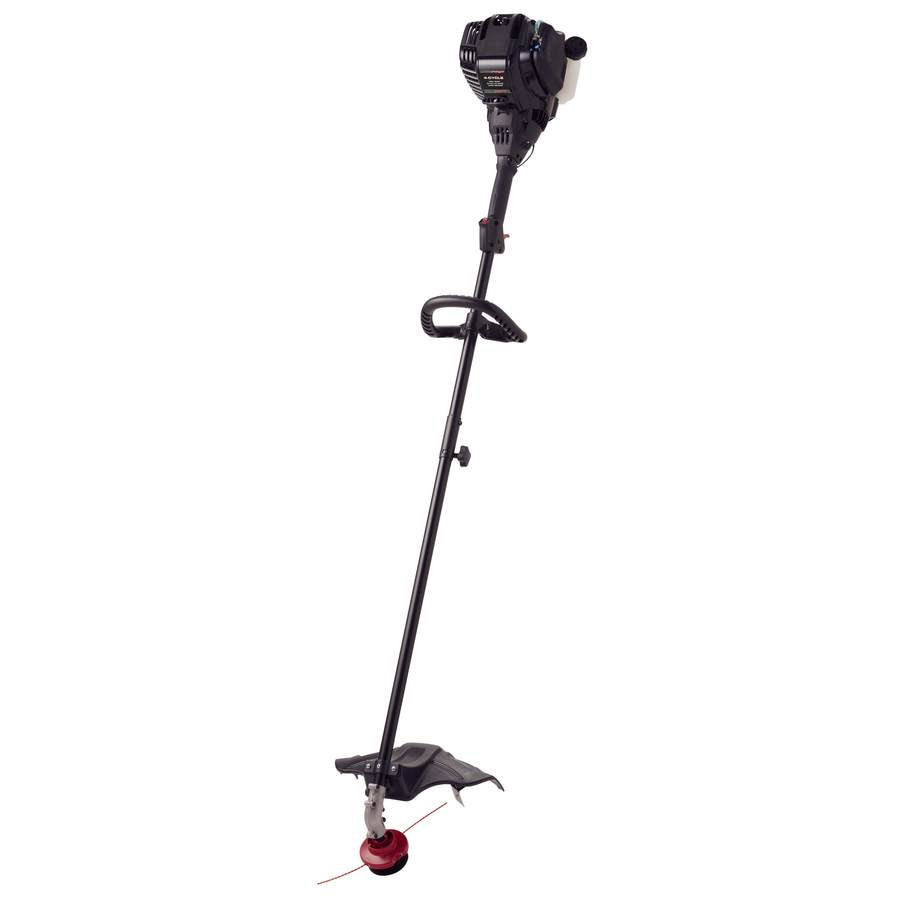 MTD Pro 29-cc 4-Cycle 17-in Straight Shaft Gas String Trimmer Edger Capable (Attachment Compatible)