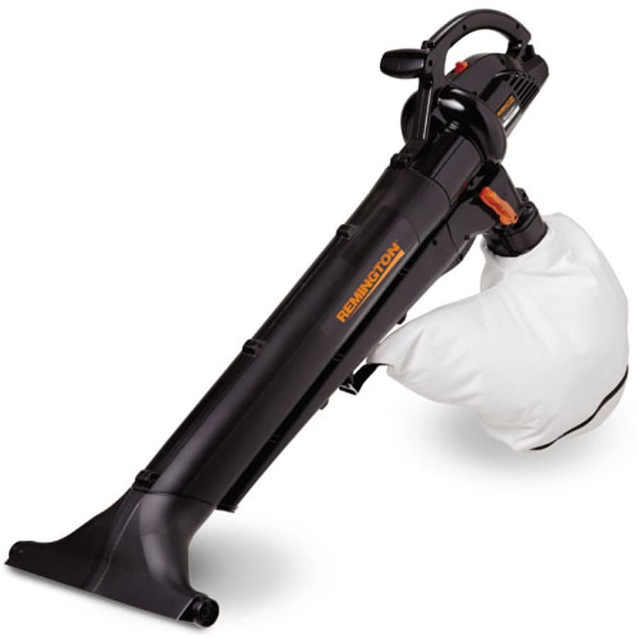 Remington 12-Amp 350-CFM 157-MPH Light-Duty Corded Electric Leaf Blower with Vacuum Kit