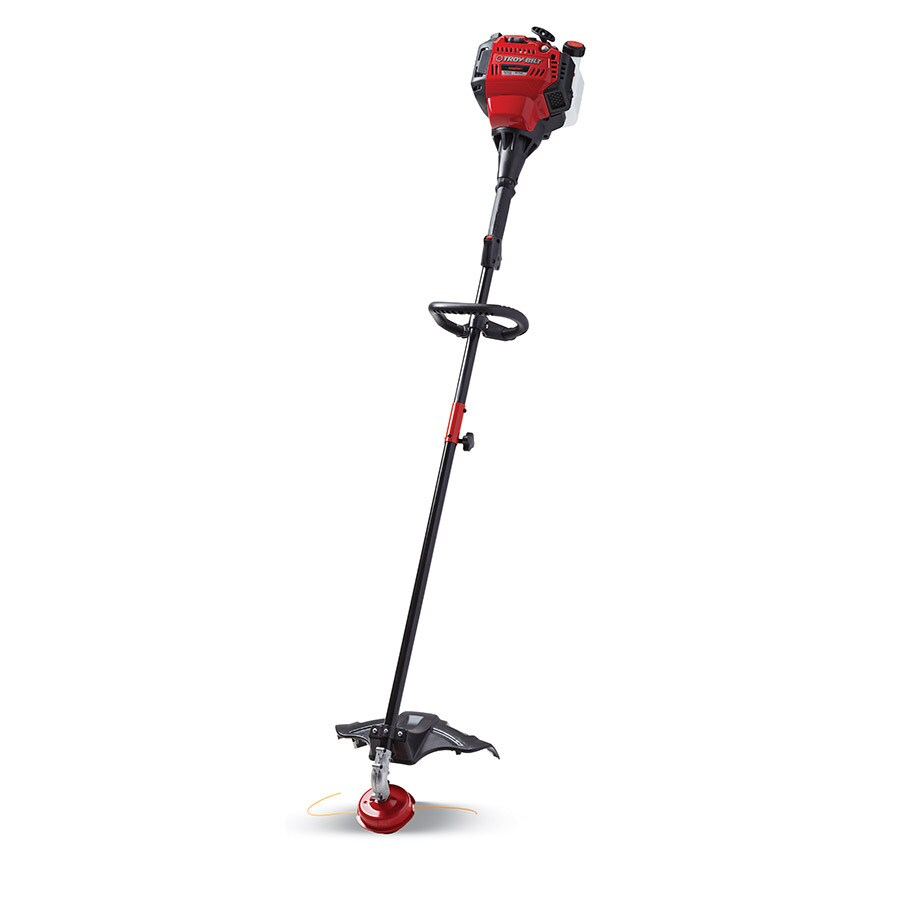 Troy-Bilt 30cc 4-Cycle 17-in Straight Shaft Gas String Trimmer and Edger