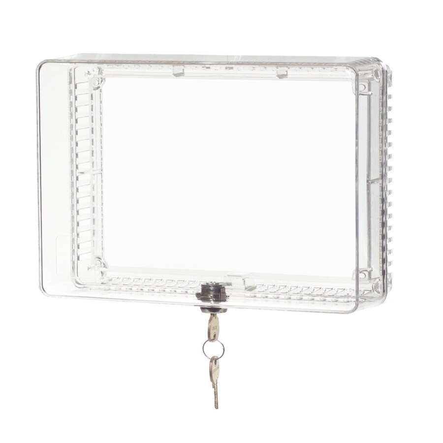 Honeywell 5.75-in Plastic Lockable Square Thermostat Cover