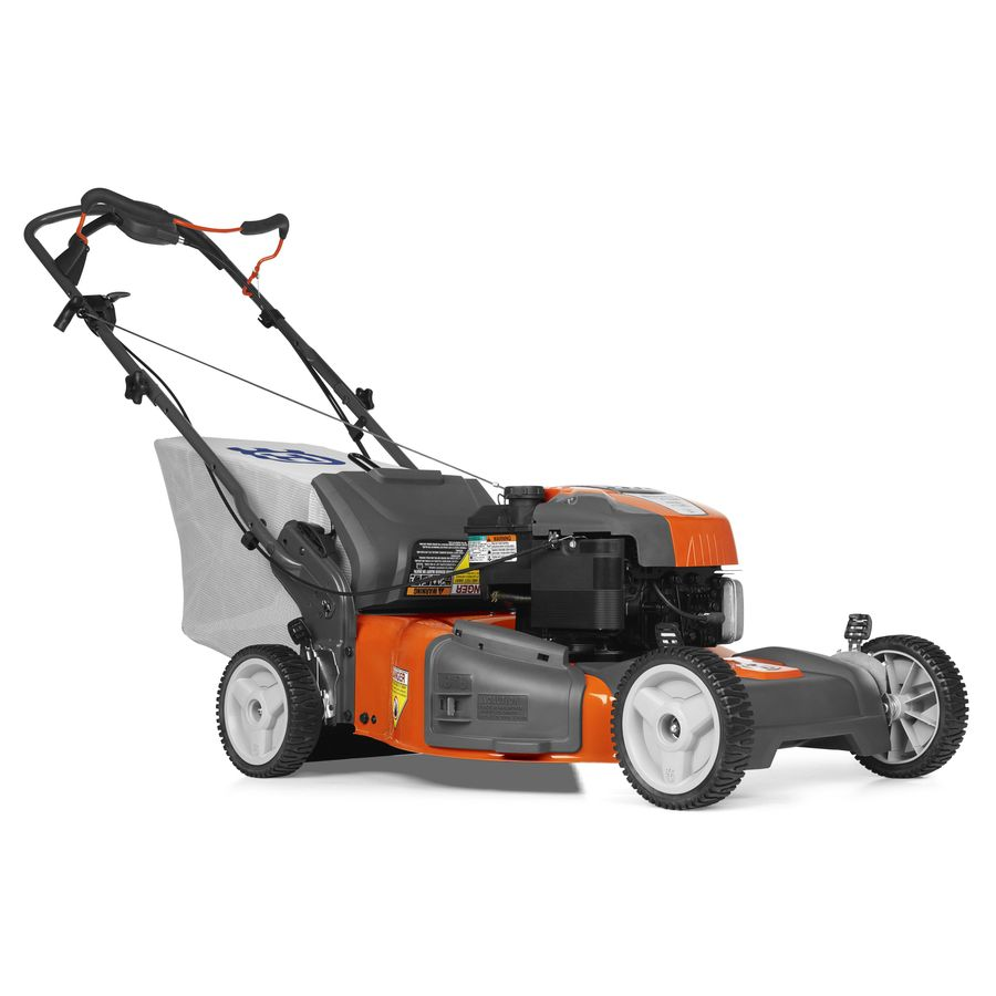 Husqvarna HU725BBC 190-cc 22-in Self-Propelled Rear Wheel Drive 3 in 1 Gas Push Lawn Mower with Briggs & Stratton Engine and Mulching Capability