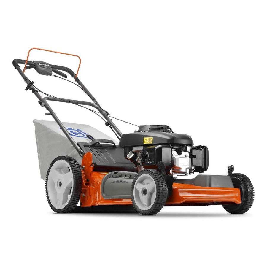 Husqvarna 160-cc 22-in Self-Propelled Front Wheel Drive 3-in-1 Gas Lawn Mower with Mulching Capability