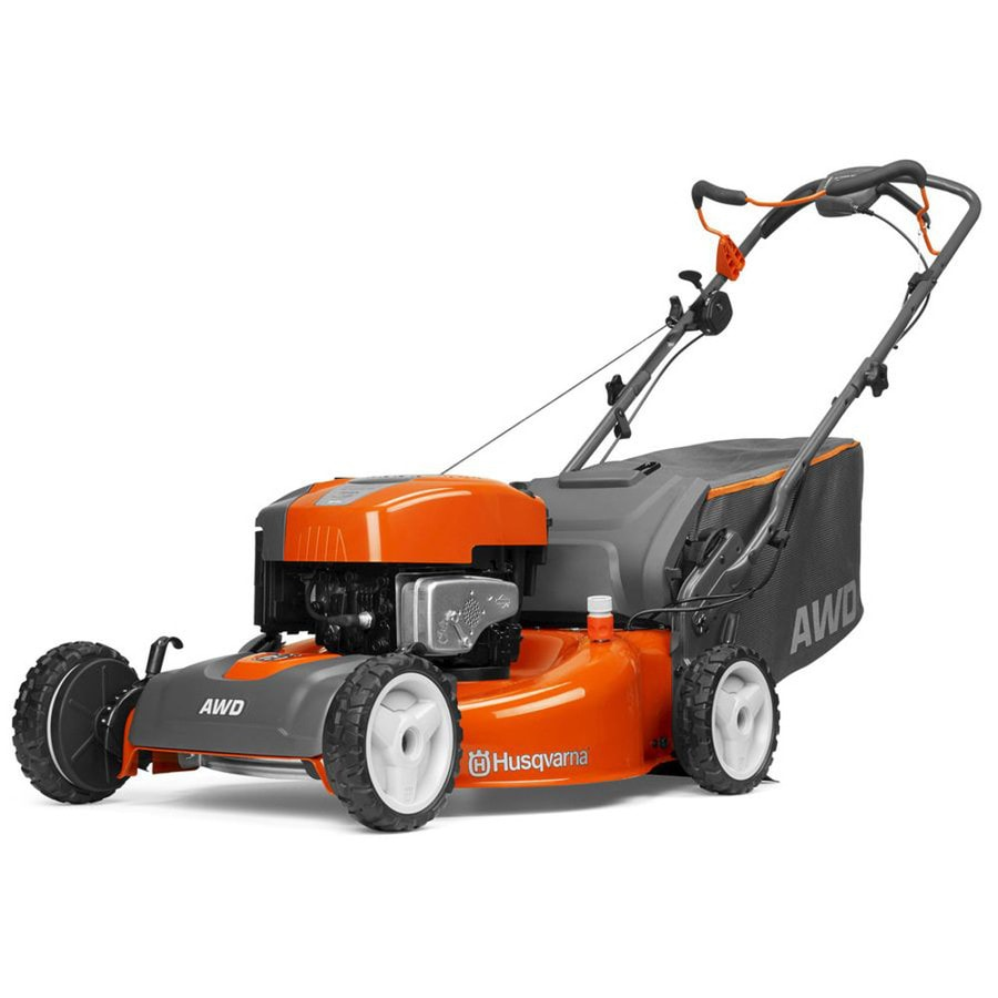 Husqvarna HU725AWD 190cc 22-in Self-Propelled All-Wheel Drive Residential Gas Lawn Mower with Mulching Capability