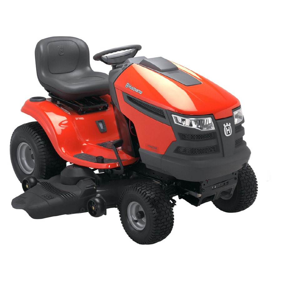 Husqvarna V-Twin Hydrostatic 48-in Riding Lawn Mower with Briggs & Stratton Engine