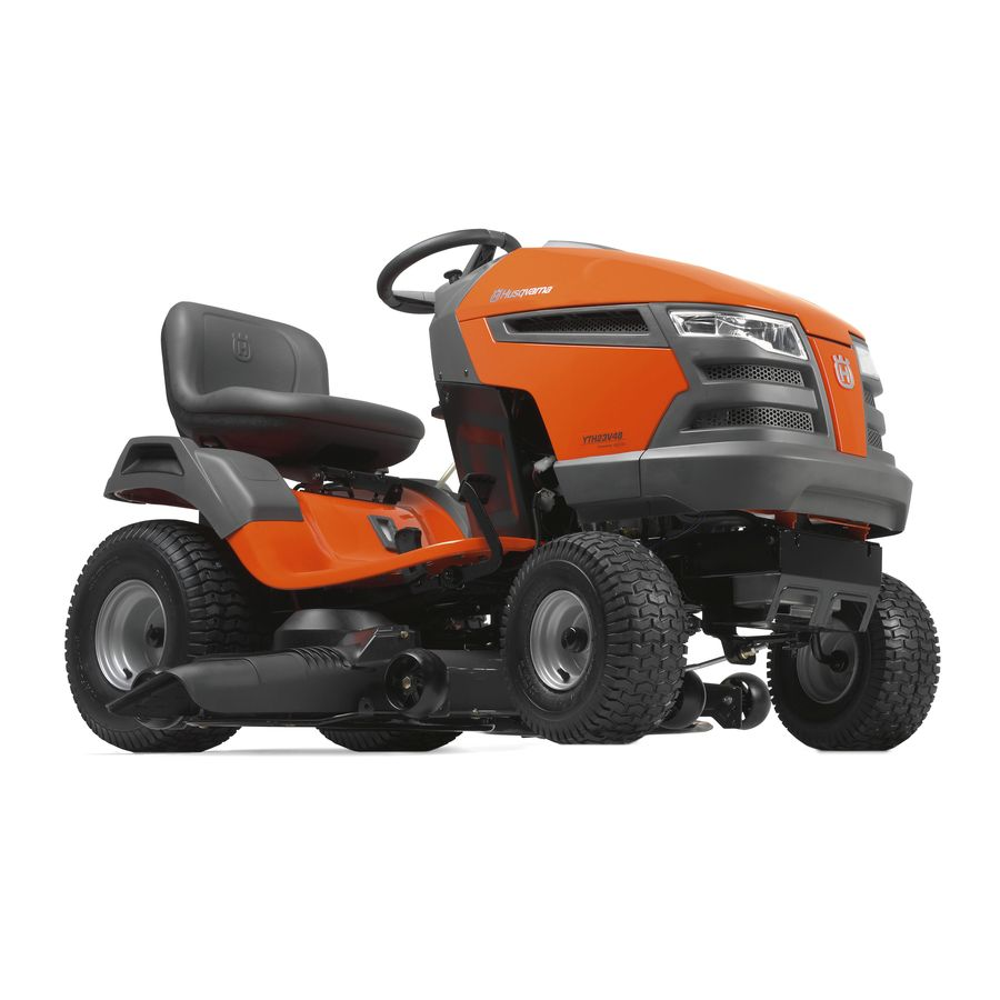 Husqvarna YTH23V48 23-HP V-Twin Hydrostatic 48-in Riding Lawn Mower with Briggs & Stratton Engine