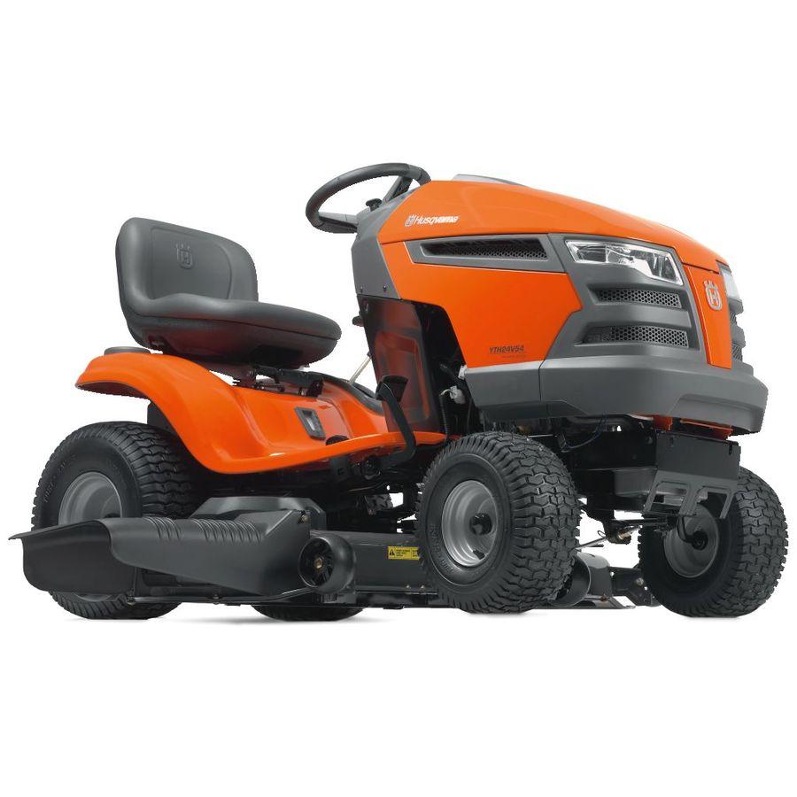 Husqvarna Tractor At Lowe S 44094 : Shop husqvarna yth v hp twin hydrostatic in
