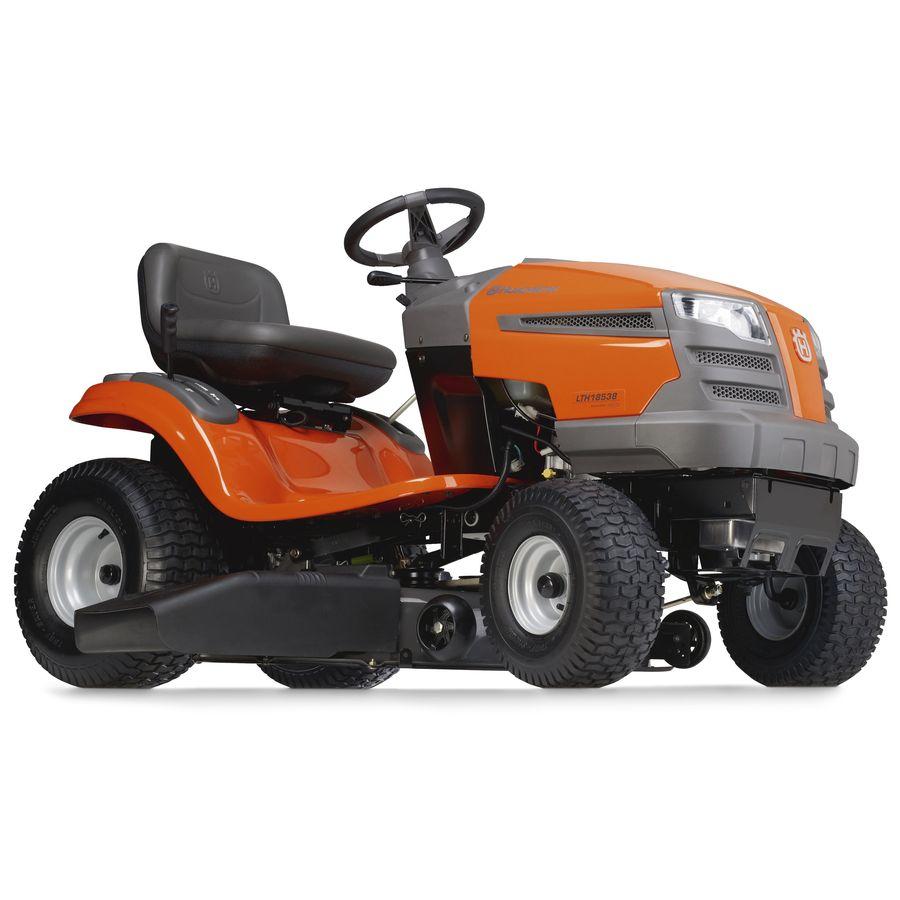 Husqvarna 18.5 HP Single Cylinder Hydrostatic 38-in Riding Lawn Mower