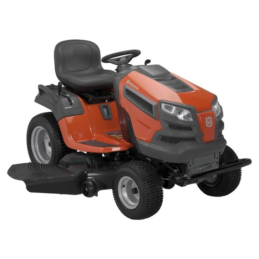 Husqvarna 25-HP V-Twin Hydrostatic 54-in Garden Tractor (CARB)