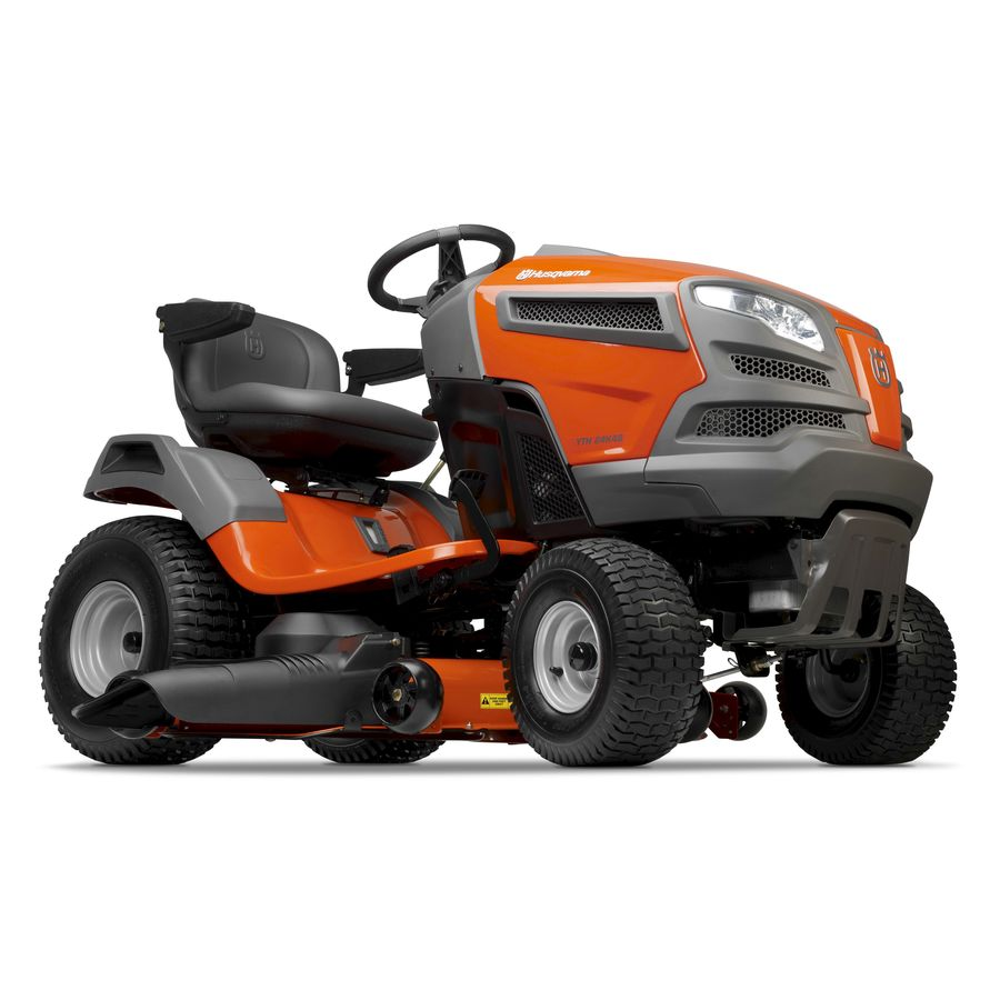 Husqvarna 24-HP V-Twin Hydrostatic 48-in Riding Lawn Mower with KOHLER Engine (CARB)