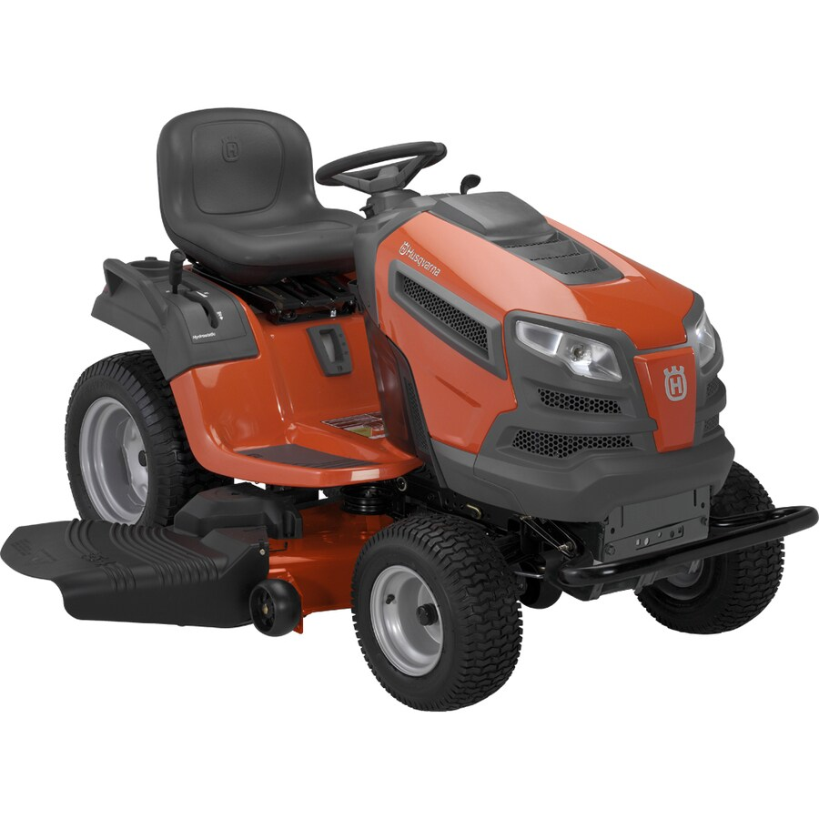 Husqvarna 26-HP V-Twin Dual Hydrostatic 54-in Garden Tractor with Briggs & Stratton Engine