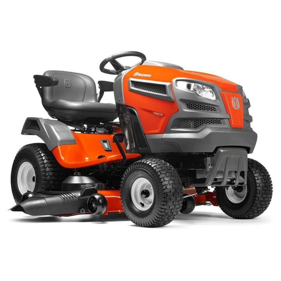 Husqvarna YTA24V48 24-HP V-Twin Automatic 48-in Riding Lawn Mower