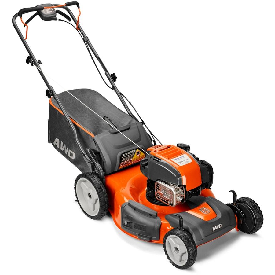 Husqvarna HU725Awdhq 163cc 22-in Self-Propelled All-Wheel Drive Residential Gas Lawn Mower with Mulching Capability