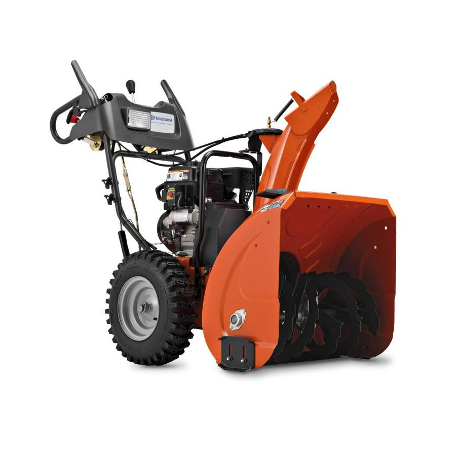 Husqvarna 924HVX 205-cc 24-in Two-Stage Electric Start Gas Snow Blower with Headlight