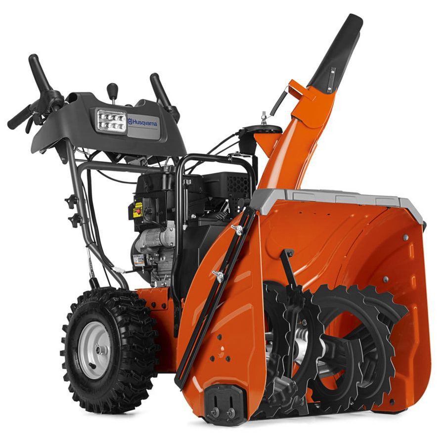 Heated Snow Blower : Shop husqvarna cc in two stage electric start gas