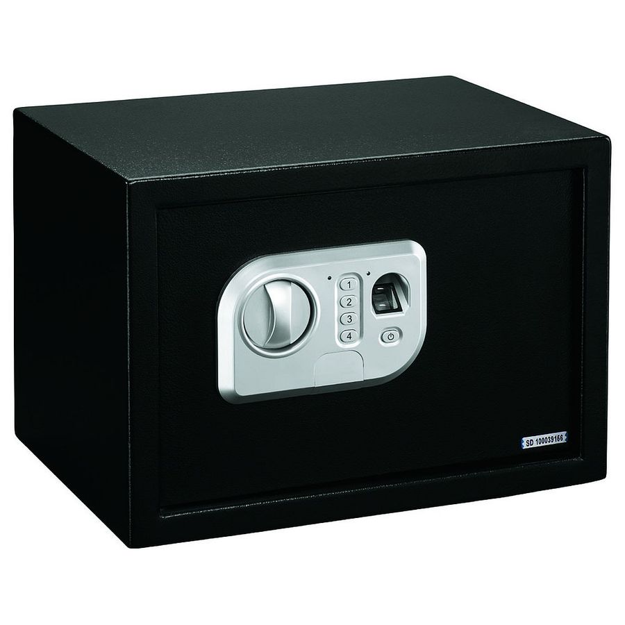 Stack-On Biometric Personal Safe with Biometric Lock