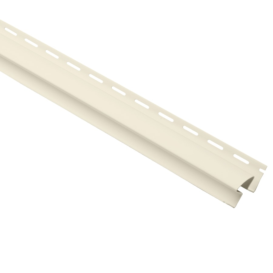 Georgia-Pacific 1.5-in x 120-in Cream Inside Corner Post Vinyl Siding Trim