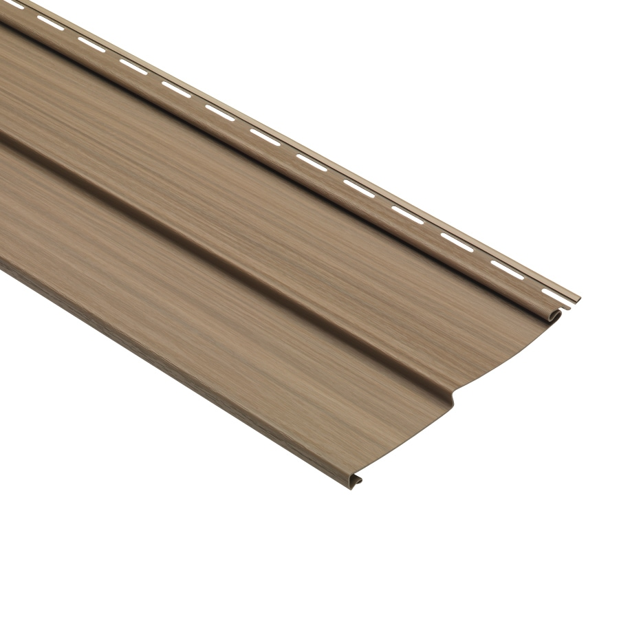 8-in x 150-in Chestnut Traditional Vinyl Siding Panel