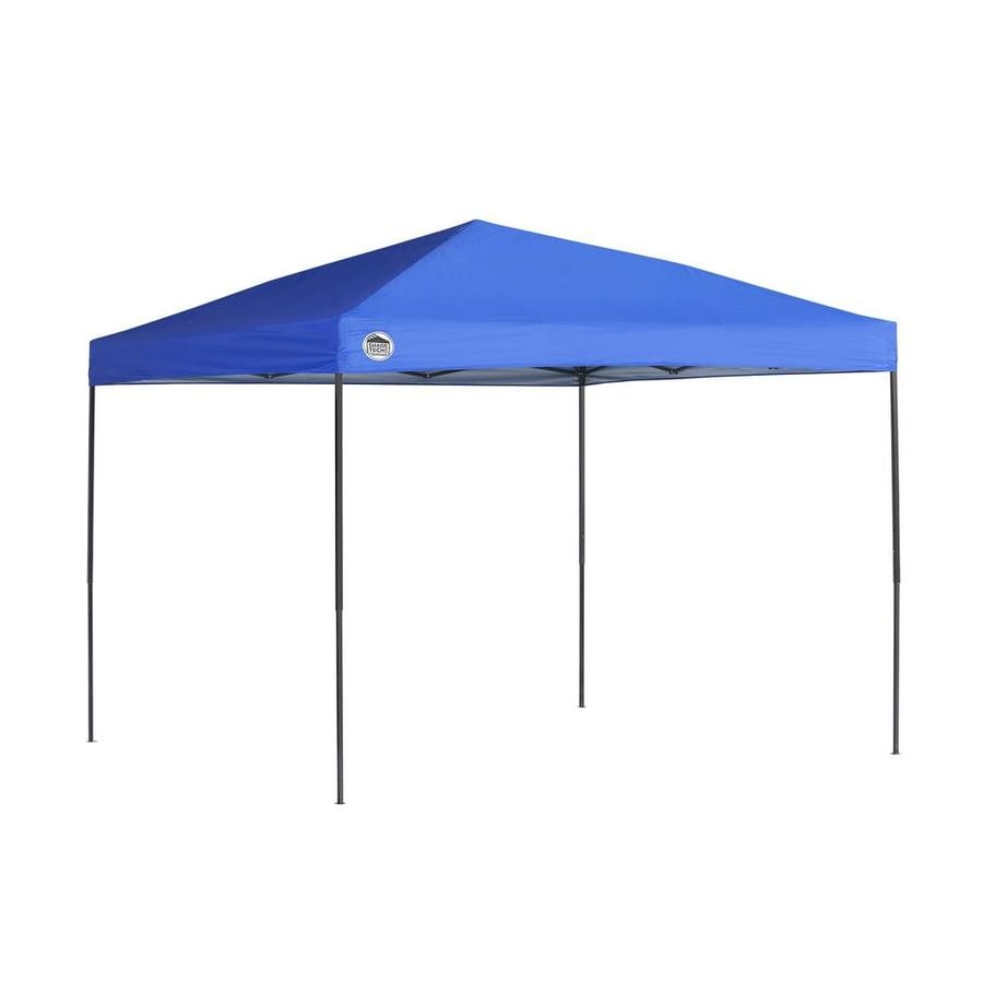 Shop Shade Tech 10 7 Ft W X 10 7 Ft L Square Blue Steel