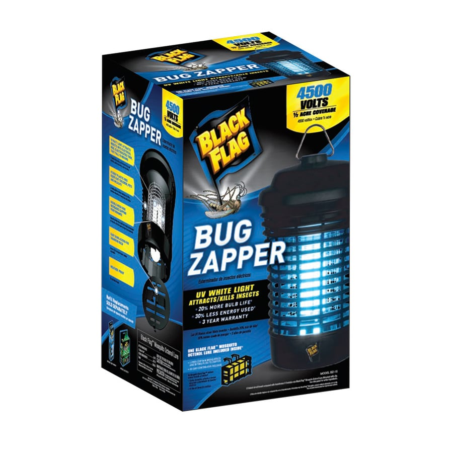 BLACK FLAG Portable Electric Bug Zapper with Lure
