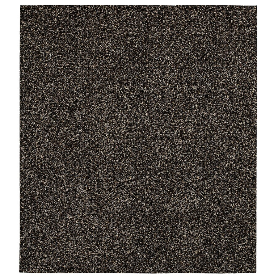 Mohawk Home Perry Shag Brown Square Brown Transitional Tufted Area Rug (Common: 8-ft x 8-ft; Actual: 8-ft x 8-ft)