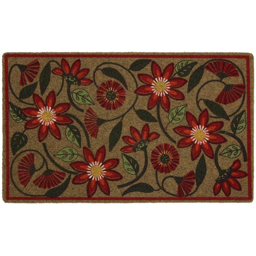 Mohawk Home Multicolor Rectangular Door Mat (Common: 18-in x 30-in; Actual: 18-in x 30-in)