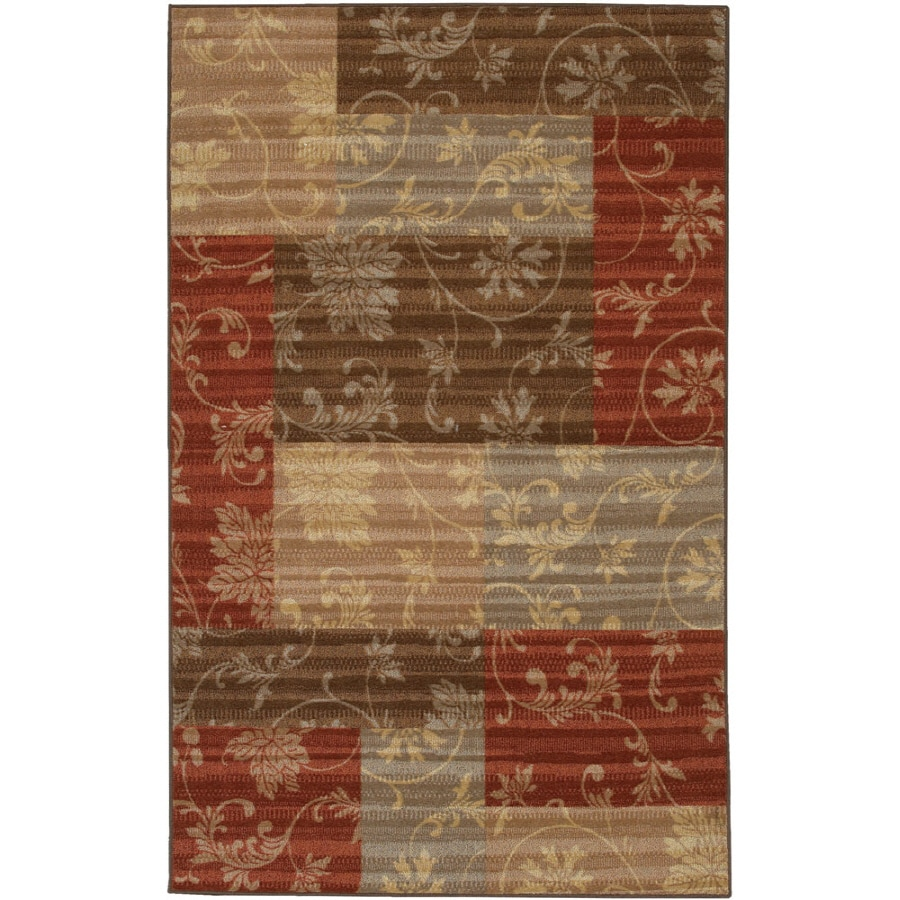Mohawk Home Cindy Multicolor Rectangular Indoor Tufted Throw Rug (Common: 2 x 4; Actual: 24-in W x 40-in L x 0.5-ft Dia)