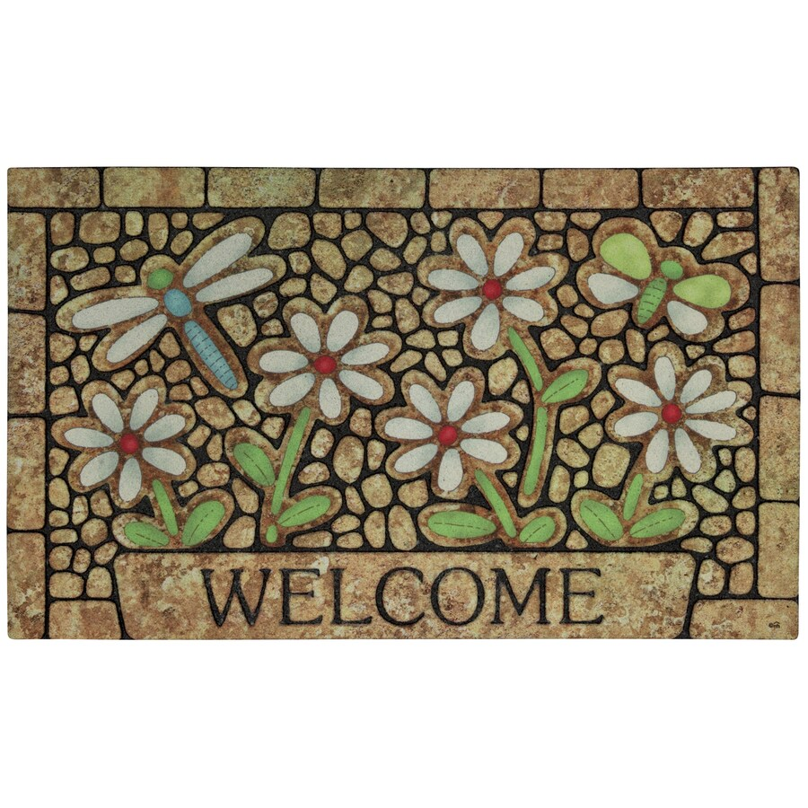 Mohawk Home Multicolor Rectangular Door Mat (Common: 18-in x 30-in; Actual: 18-in x 30-in)